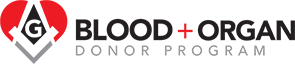 Masonic Blood + Organ Donor Program Logo