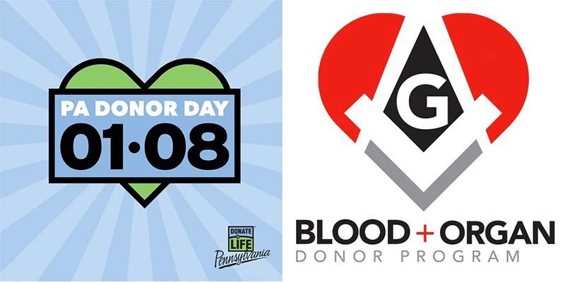 PA Donor Day - Masonic Blood + Organ Donor Program